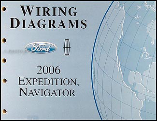 2006 ford expedition lincoln navigator wiring diagram manual original 1997 Ford Expedition Stereo Wiring Diagram