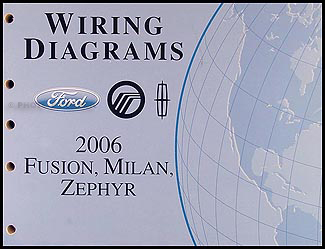 2006 ford fusion mercury milan lincoln zephyr wiring diagram manual original Home Wiring Diagrams