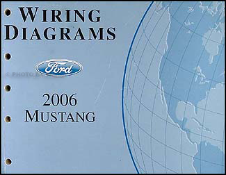 2006 Ford Mustang Wiring Diagram Manual OriginalFaxon Auto Literature