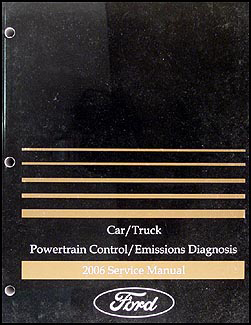 2006 Engine & Emissions Diagnosis Manual FoMoCo Car & Truck