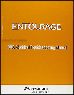 2006 Hyundai Entourage Electrical Troubleshooting Manual Original