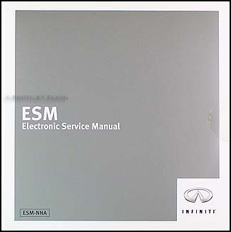 2005 Infiniti FX35/FX45 CD-ROM Repair Manual