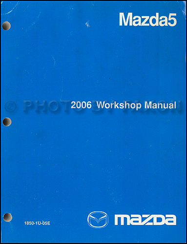 2008 Mazda MX-5 Miata Repair Manual Original