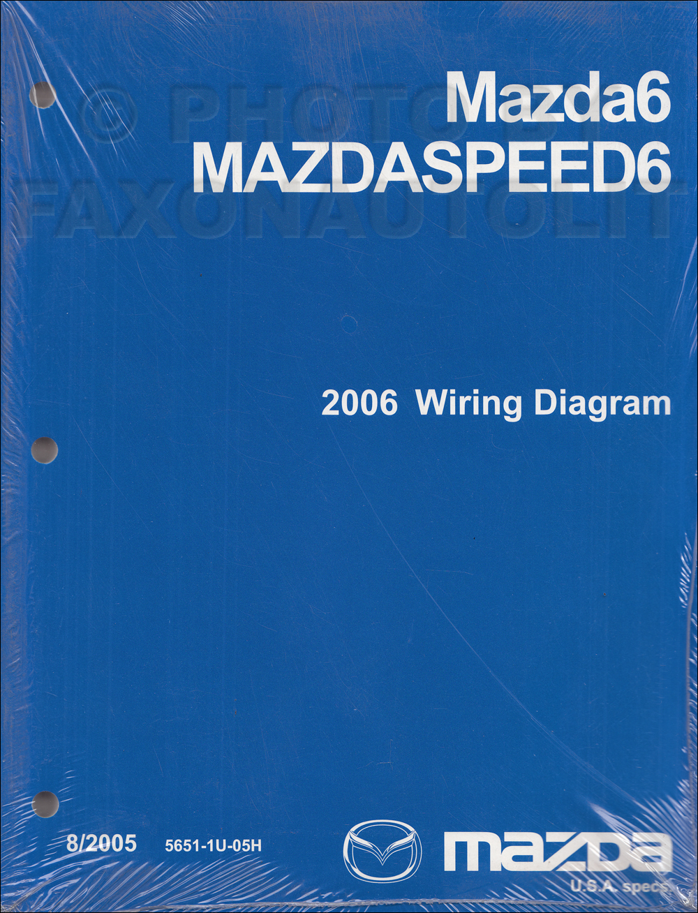 2006 Mazda 6 Original Wiring Diagram