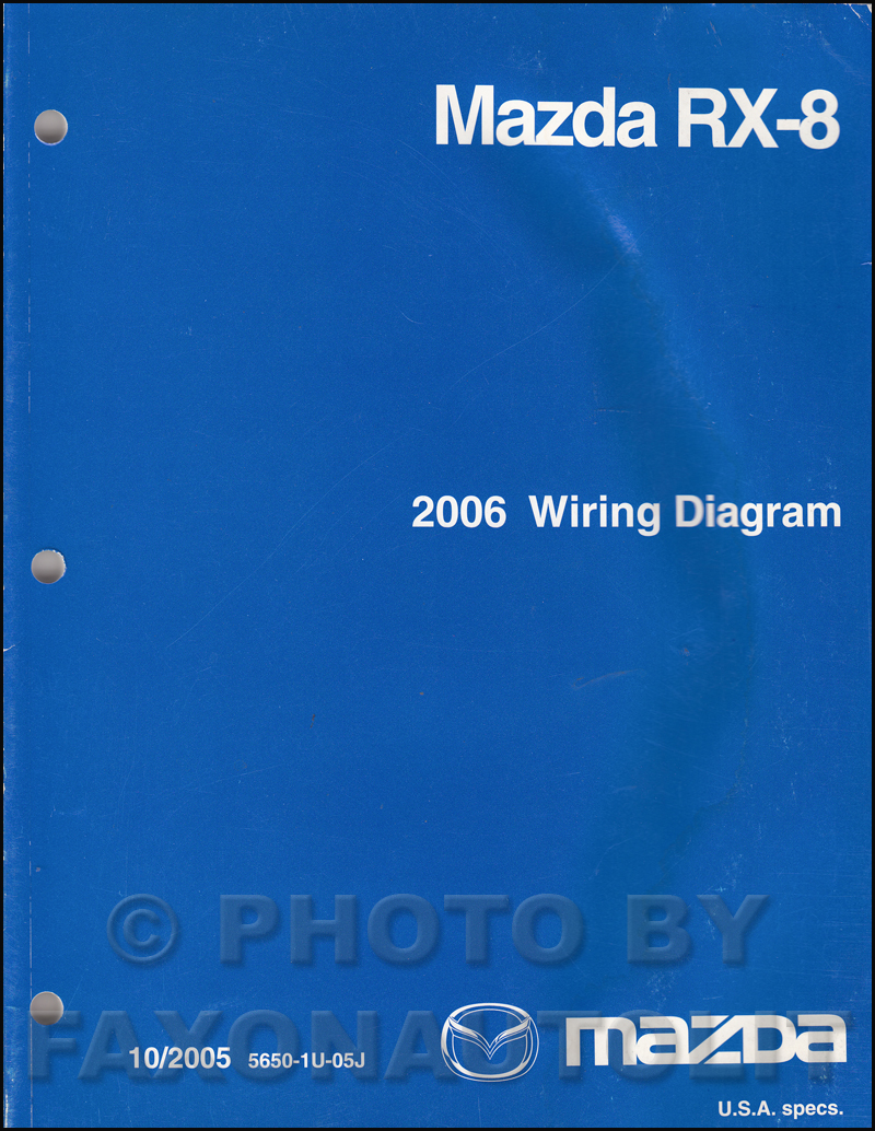 2006 mazda rx 8 wiring diagram manual original rx82006mazdarx8owd jpg