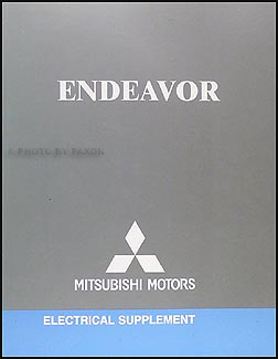 2006 Mitsubishi Endeavor Wiring Diagram Manual Original