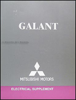 2006 Mitsubishi Galant Wiring Diagram Manual Original