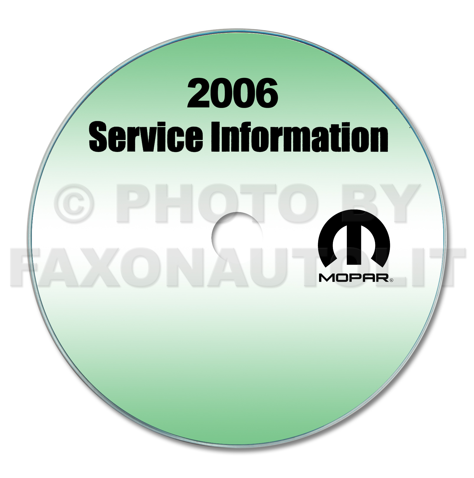 2006 Dodge Sprinter Repair Shop Manual CD-ROM