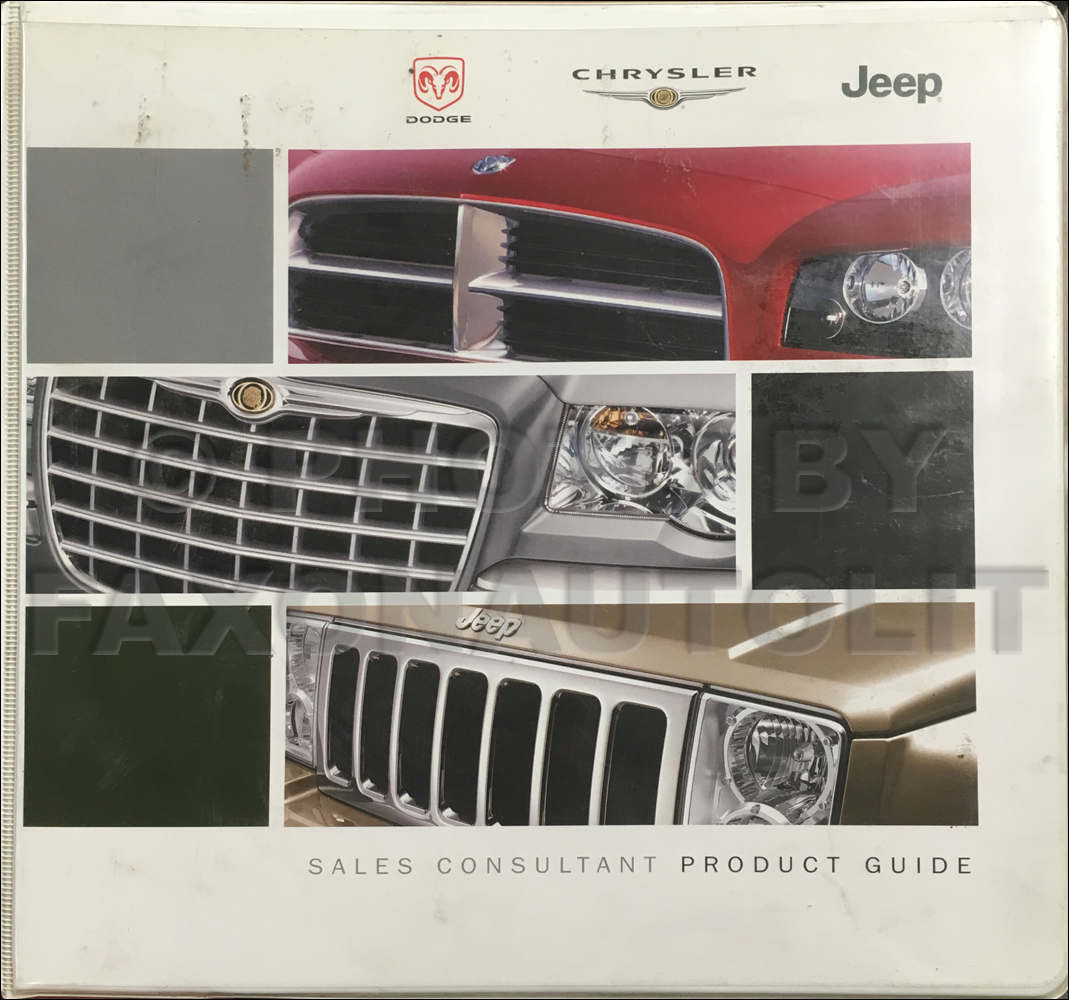 2006 Mopar Sales Consultant Product Guide Original Dealer Album