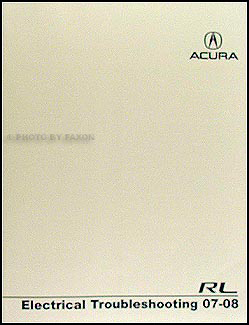 2007-2008 Acura RL Electrical Troubleshooting Manual Original
