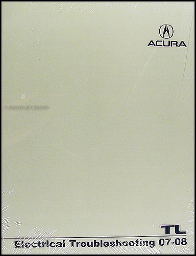 2007-2008 Acura TL Electrical Troubleshooting Manual Original