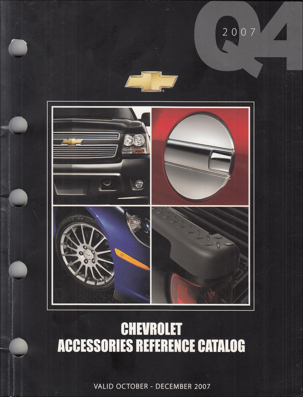 2007-2008 Chevrolet Dealer Installed Accessory Dealer Album Original Q4
