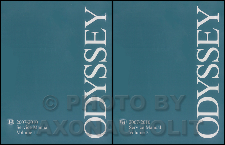 2007-2010 Honda Odyssey Repair Manual Original  2 Vol. Set