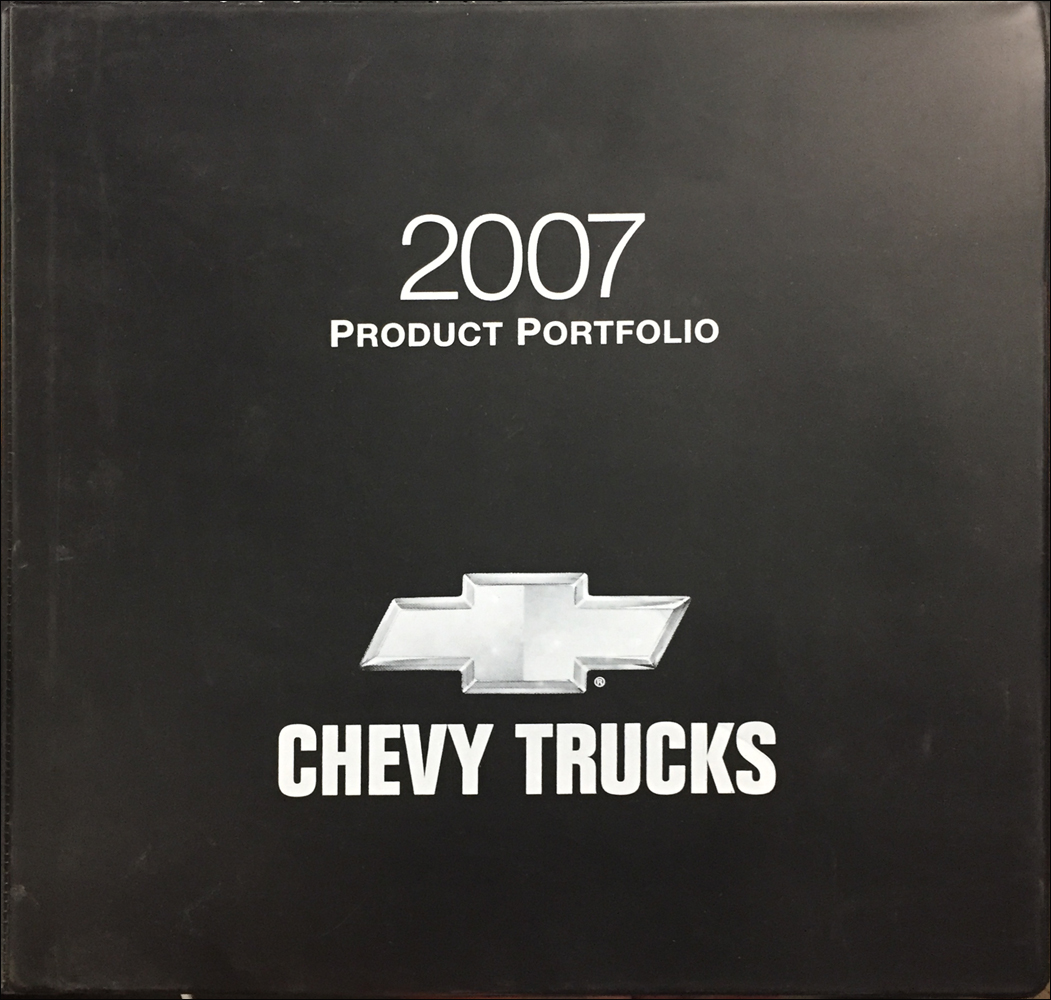 2007 Chevrolet Truck Color and Upholstery Dealer Album and Data Book Original