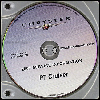 2007 Chrysler PT Cruiser CD-ROM Shop Manual