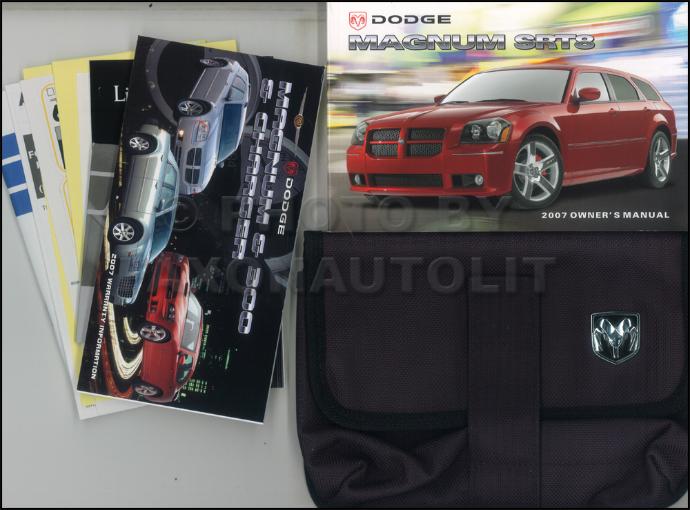 2007 Dodge Magnum SRT8 Owner's Manual Original