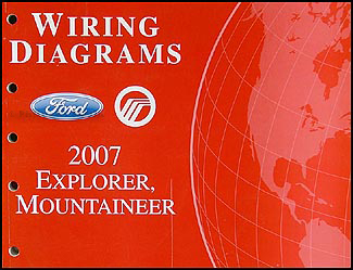Stupendous 2007 Ford Explorer Mercury Mountaineer Wiring Diagram Manual Wiring Digital Resources Remcakbiperorg