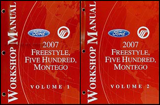 2007 Freestyle, 500, & Montego Repair Manual Original