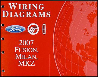 2007 ford fusion, mercury milan, lincoln mkz wiring diagram manual wiring diagram 2007 ford fusion sel 2007 ford fusion wiring diagram #1