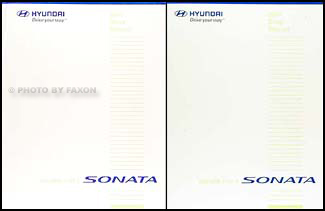 2007 Hyundai Sonata Shop Manual 2 Volume Set Original
