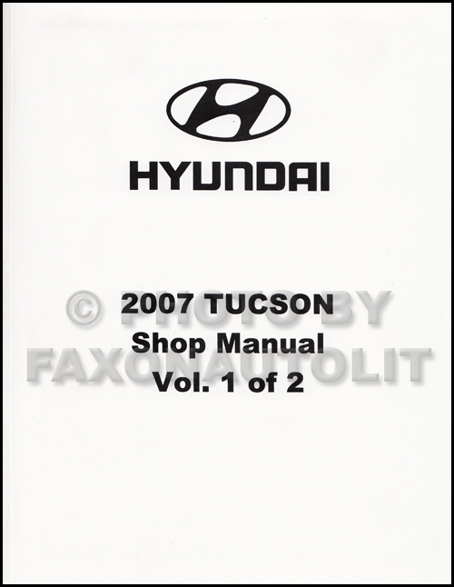 2007 Hyundai Tucson Electrical Troubleshooting Manual Original. 2007 Hyundai Tucson Repair Manual 2 Volume Set Original. Wiring. Free Auto Wiring Diagram For Hyndai Tucson At Scoala.co