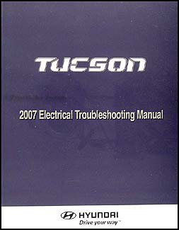 2007 Hyundai Tucson Electrical Troubleshooting Manual Original