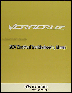 2007 Hyundai Veracruz Electrical Troubleshooting Manual Original