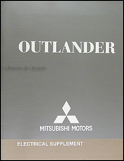 2007 Mitsubishi Outlander Wiring Diagram Manual Original