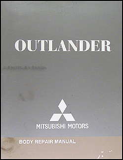 2007-2012 Mitsubishi Outlander Body Manual Original