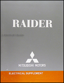 2007 Mitsubishi Raider Wiring Diagram Manual Original