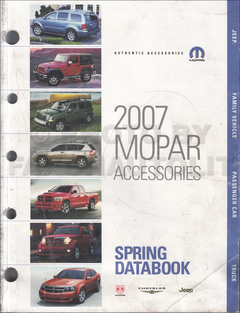 2007 MoPar Accessories Databook Original Spring