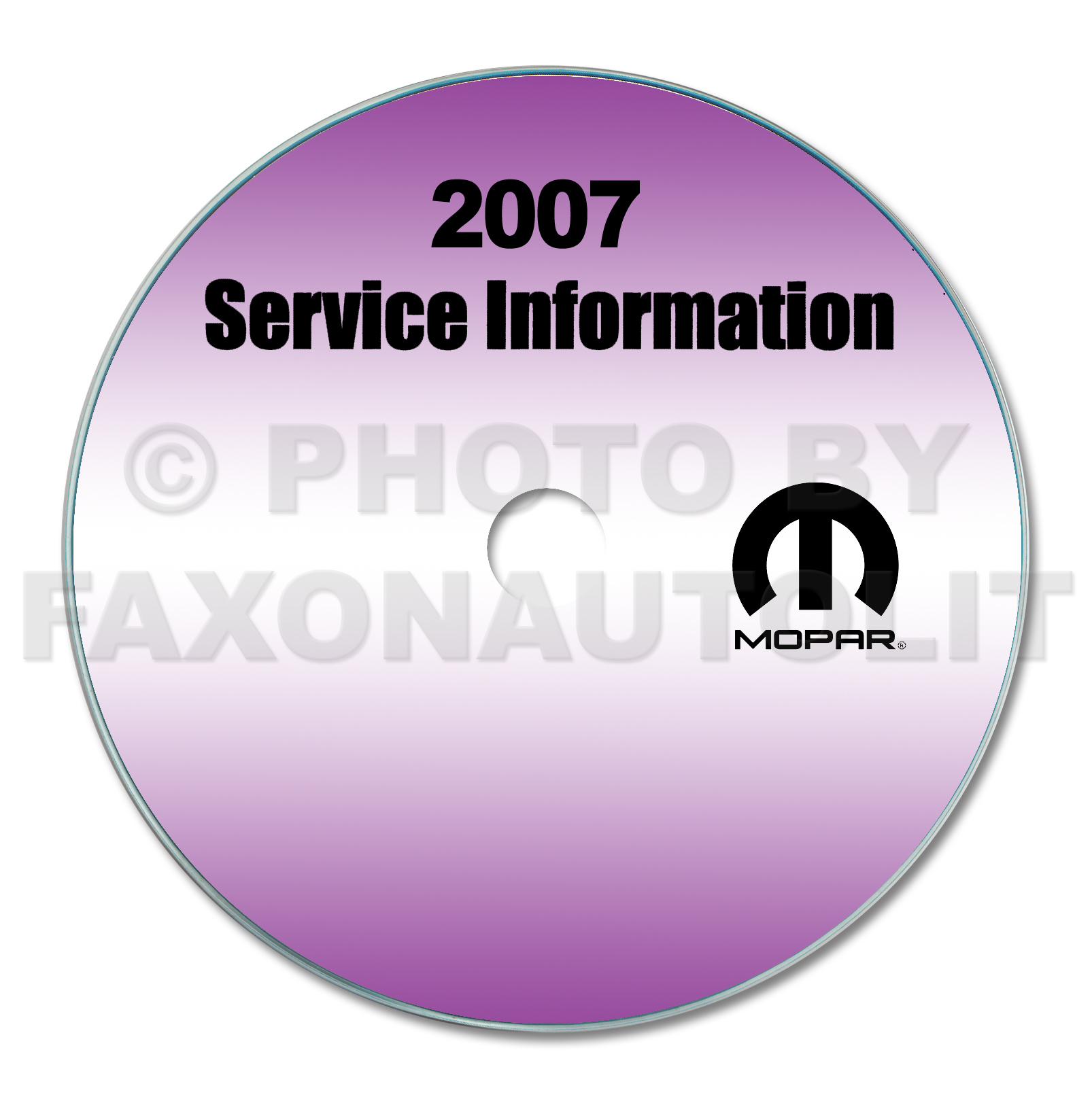 2007 Dodge Sprinter Repair Shop Manual CD-ROM