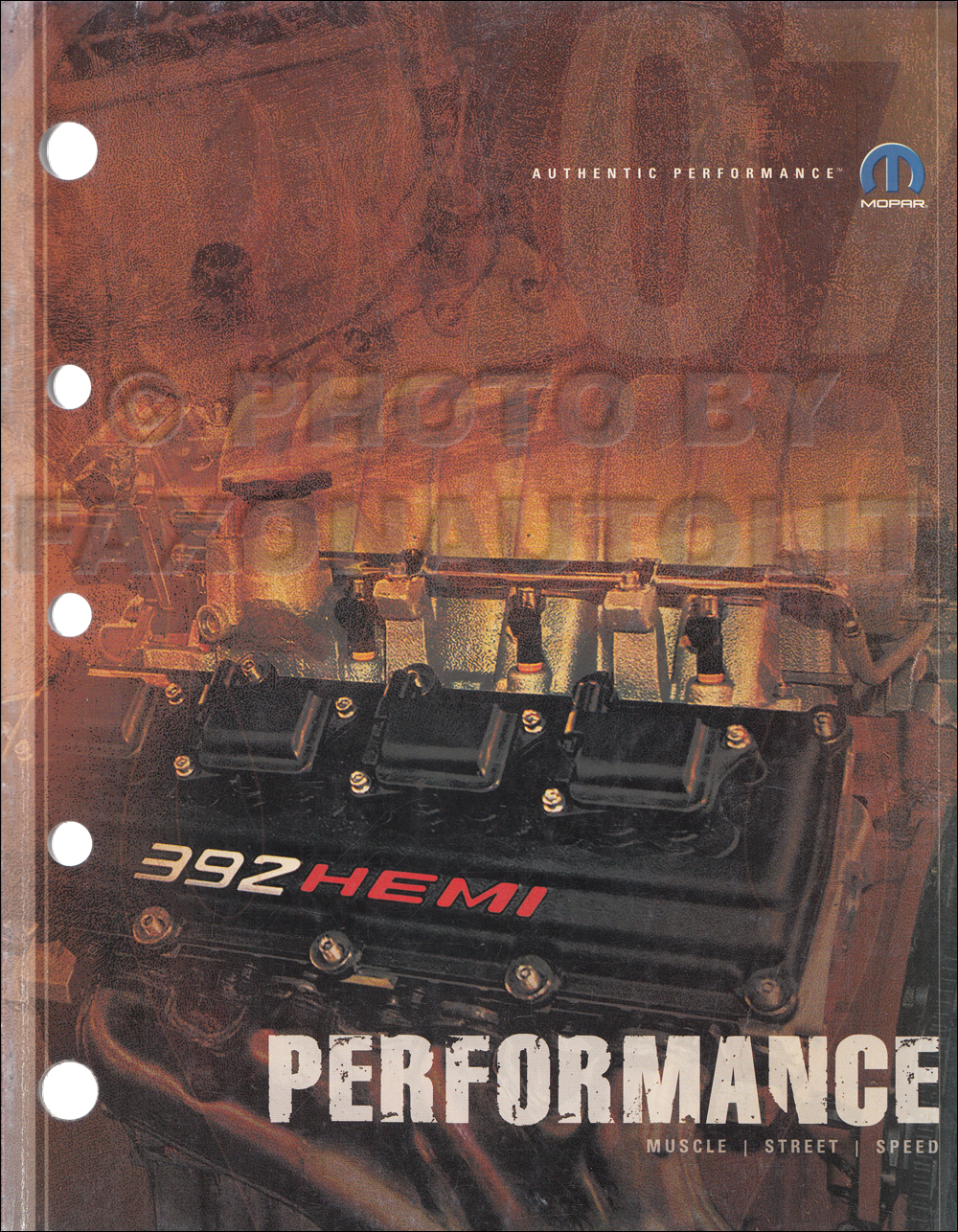 2007 MoPar Performance Parts Book Original