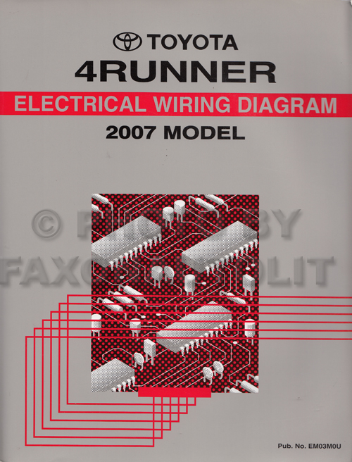 2007 Toyota 4runner Wiring Diagram Manual Originalrhfaxonautoliterature: 2007 Toyota 4runner Wiring Diagram At Cicentre.net