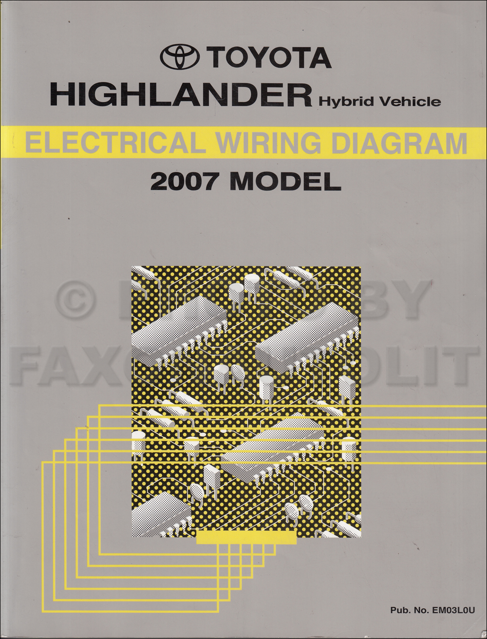 2007 Highlander Wiring Diagram Wiring Diagram Sample 2007 Toyota Corolla  2007 Corolla Wiring Diagram