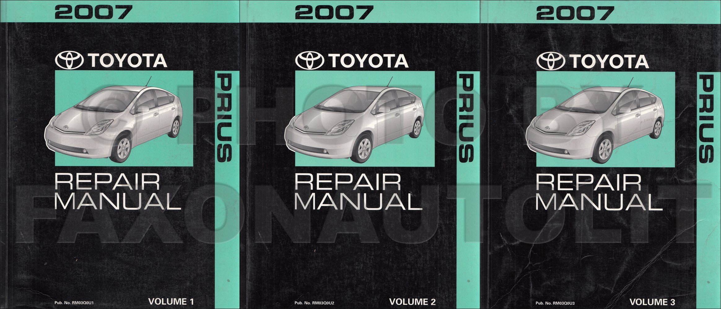 2003 Toyota Prius Wiring Diagram Manual Original 2007 Engine Search Rh Faxonautoliterature Com 82 Pickup