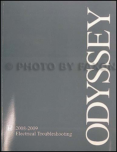 2008-2009 Honda Odyssey Electrical Troubleshooting Manual Original