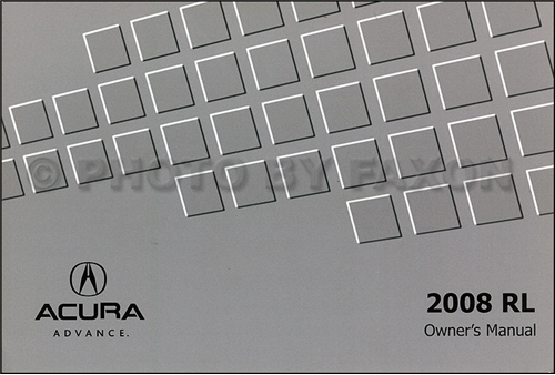 2008 Acura RL Owner's Manual