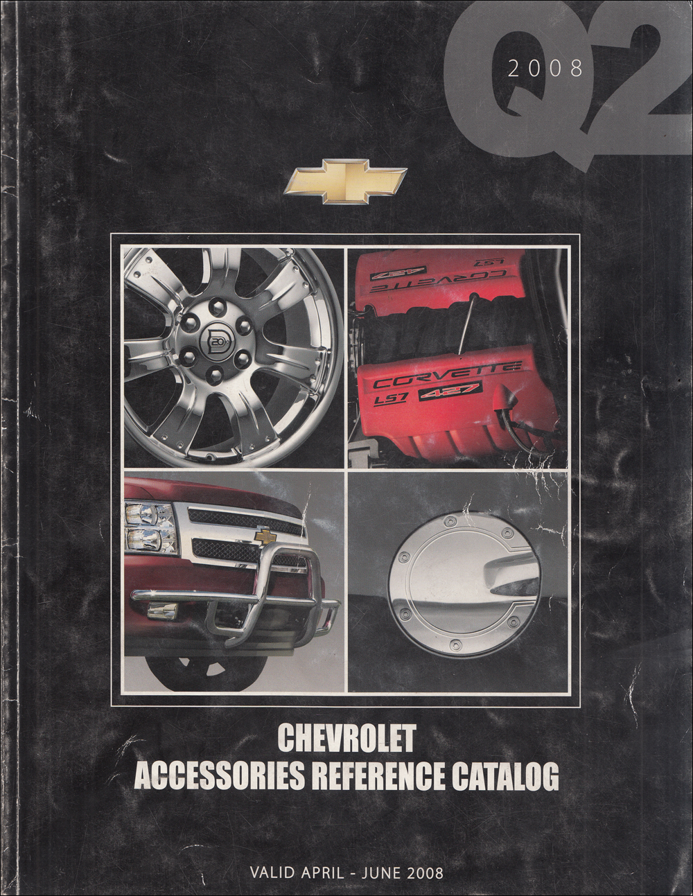 2008 Chevrolet Dealer Installed Accessory Dealer Album Original Q2