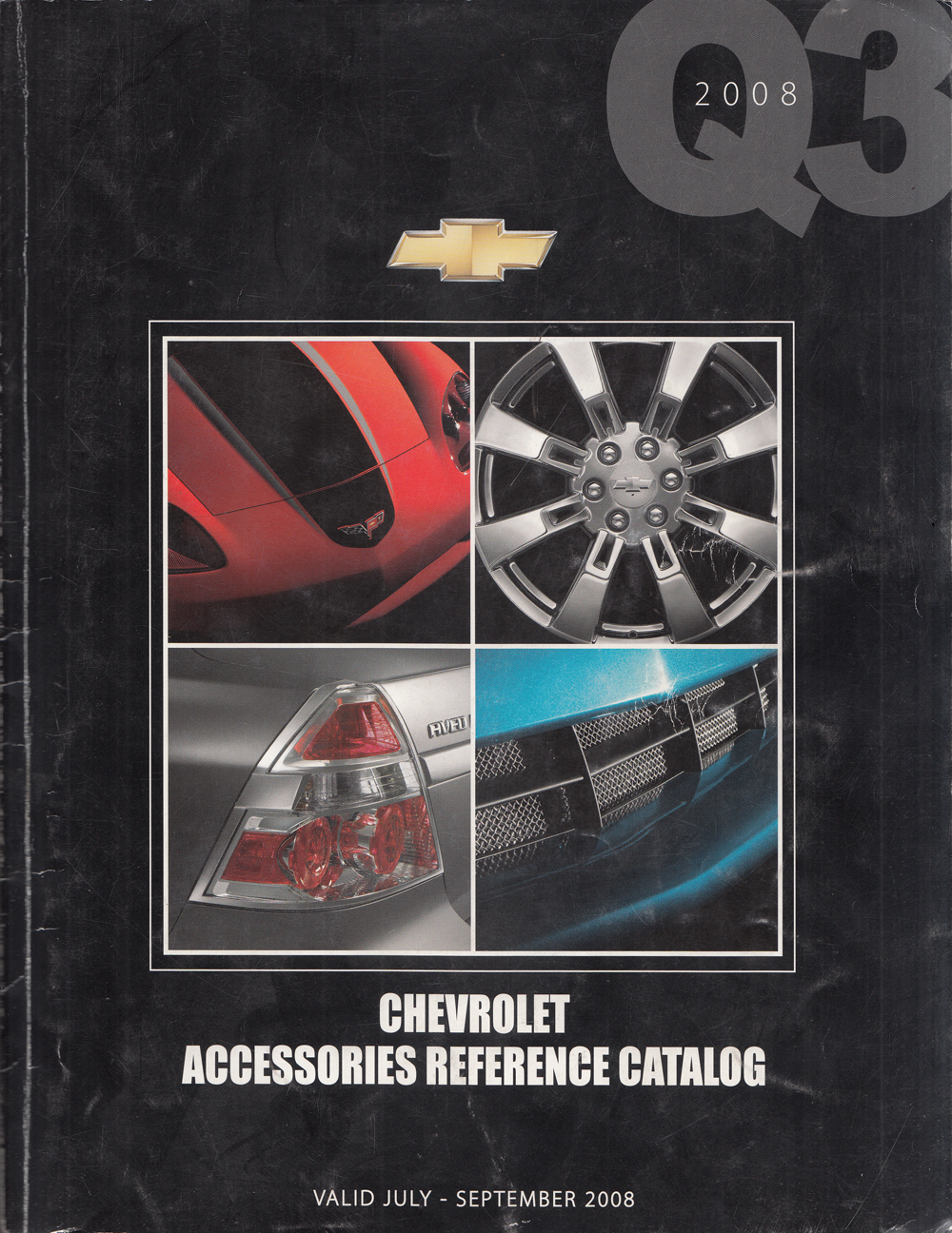 2008 Chevrolet Accessories Reference Catalog Q3