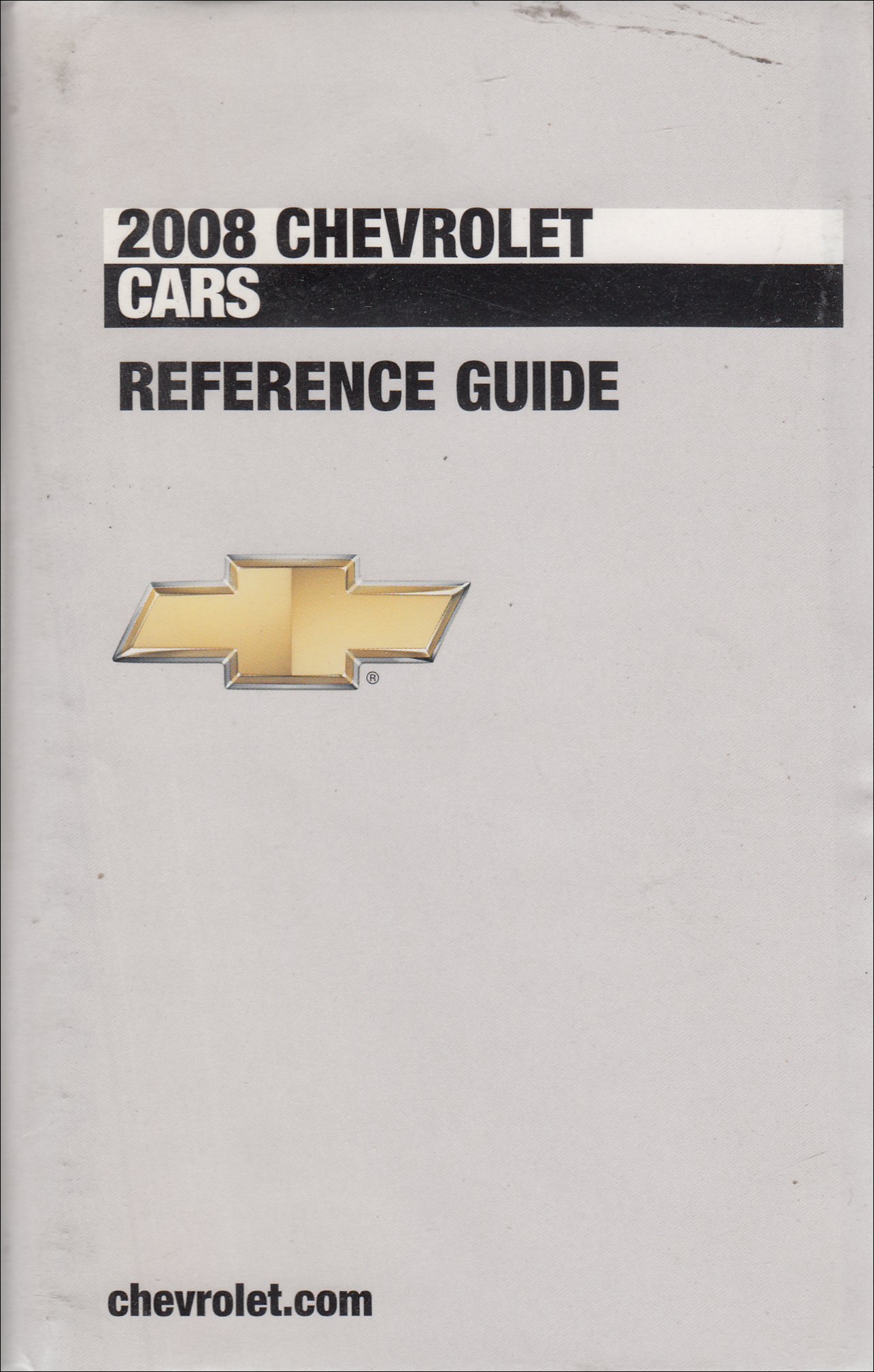 2008 Chevrolet Car Data Book with Color & Upholstery Original