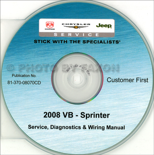 2005 Dodge Sprinter Van CD-ROM Shop Manual