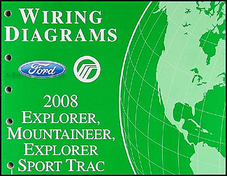 2008 ford explorer mercury mountaineer wiring diagram manual rh faxonautoliterature com 2008 ford explorer trailer wiring diagram 2008 ford explorer radio wiring diagram