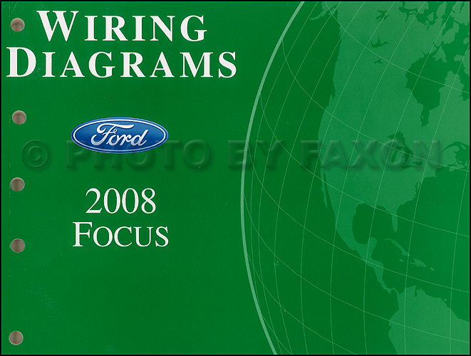 2008 Ford Focus Wiring Diagram Manual Original