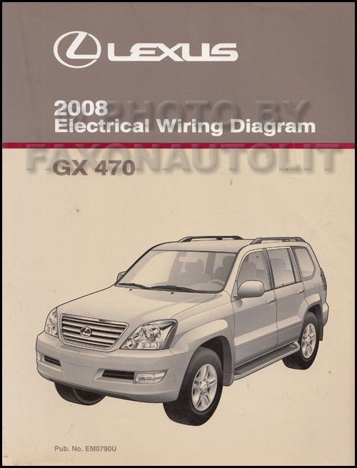 2006 Lexus Gx 470 Electrical Wiring Diagram Manual Download