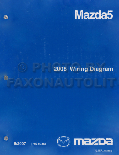 mazda 5 wiring diagram good guide of wiring diagram • 2008 mazda 5 wiring diagram original rh faxonautoliterature com mazda 5 2005 wiring diagram mazda 5 wiring diagram pdf