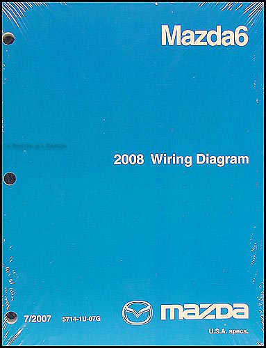 2008 Mazda 6 Wiring Diagram Original