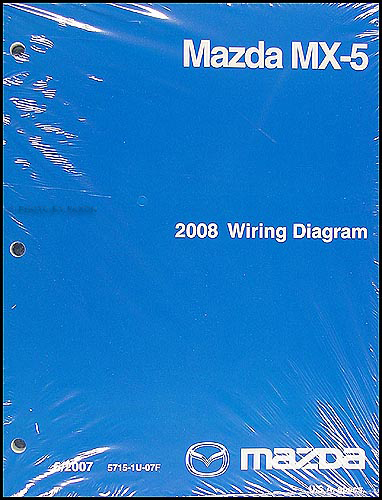 2008 Mazda MX-5 Miata Wiring Diagram Original