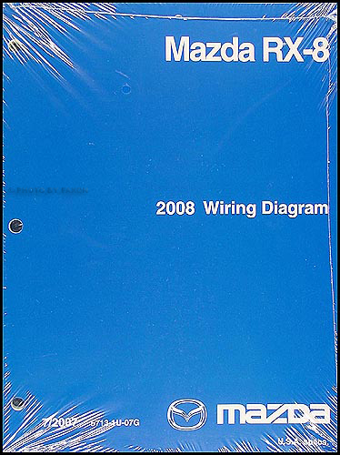 2008 Mazda RX-8 Wiring Diagram Original
