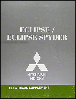 2008 Mitsubishi Eclipse & Spyder Wiring Diagram Manual Original